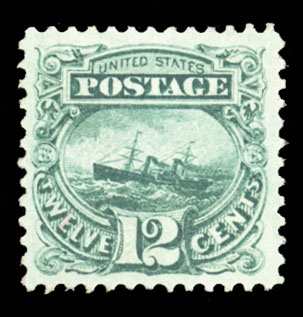 Lot 23 - United States 1857-61 Issue  -  Cherrystone Auctions U.S. & Worldwide Stamps & Postal History