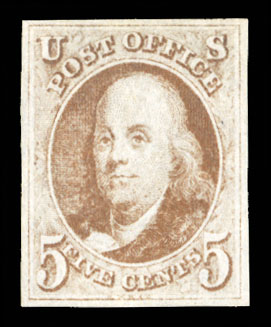 Lot 4 - United States 1847 Issue  -  Cherrystone Auctions Worldwide Stamps and Covers