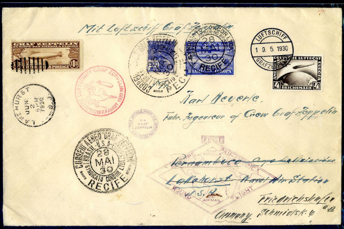 Deborah Friedman Collection Of Colombian Airmail U S